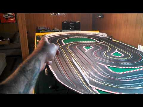 Chad Slot car track