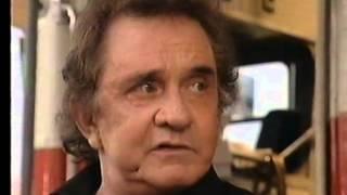 Johnny Cash  - Glastonbury 1994 Interview (Channel 4)