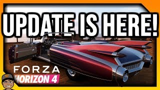 Forza Horizon 4 Live: How Is The New Update? *Open Lobby!*