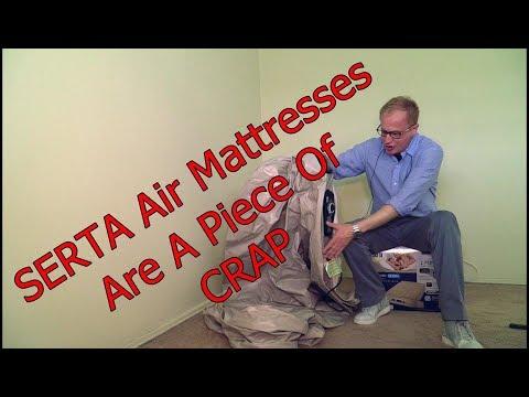 Serta Air Mattress With Never Flat Pump – A Piece Of Crap!