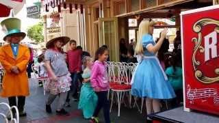 Musical chairs at Disneyland.
