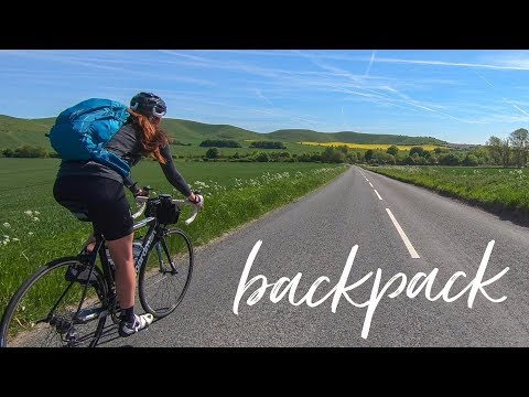 Cycling 197km With a Backpack!?