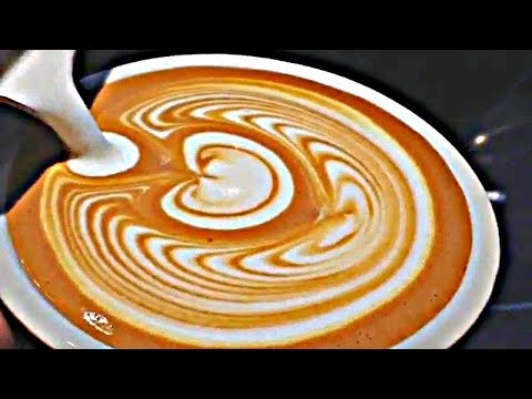 Hour Of Pure Barista Latte Art Training Compilation! ~ Very ...