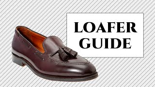 Loafer Shoes Guide For Men - Tassel, Penny, Gucci, Horsebit, Weejuns & Slip-on Slipper Explained