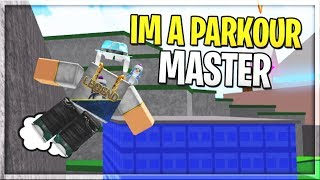 I WILL BE THE BEST!   Parkour Simulator