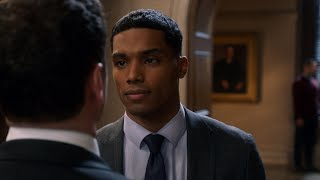 Gabe and Asher Fight in the Courthouse - How to Get Away with Murder