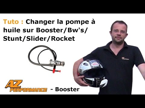 Changer la pompe à huile son Booster / Stunt / Rocket / ...
