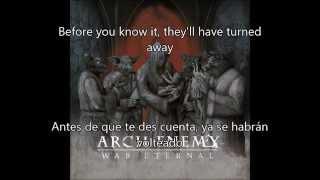 Avalanche - Arch Enemy (subtitulada Inglés y Español)