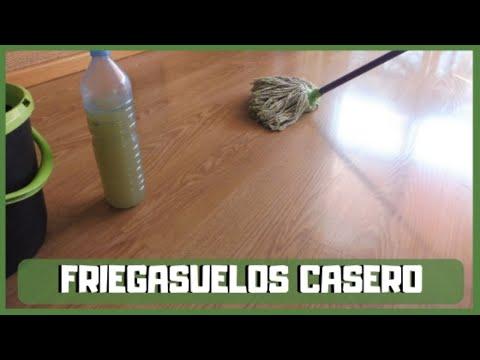 Friegasuelos casero ecológico   Líquido para trapear, limpiador casero