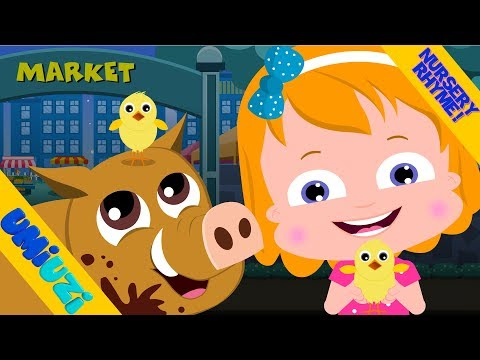 To the Market | Umi Uzi Fun Rhyme Video For Kids and toddlers