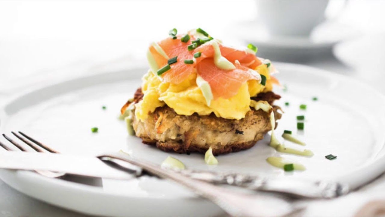 Irish Smoked Salmon and Egg Boxty {Video}