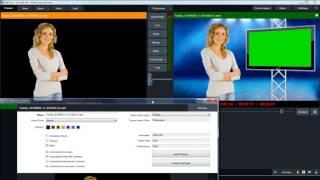 VMix 16 Live Chroma Key Video Tutorial