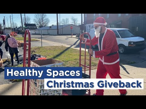 2020 Week of Giving to 5 Local Charities - Healthy Spaces