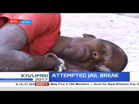 Drama as a suspect tries to jump off through a window at Malindi Law Court