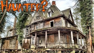 Abandoned Horror House Mansion - Adams Family House?