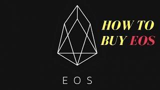 EOS - How to Buy EOS