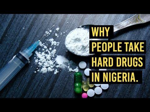 Why People Take Hard Drugs in Nigeria?