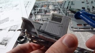 Сборка модели санитарного автомобиля ЗиС-44