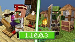 ВЫШЕЛ НОВЫЙ Minecraft PE 1.10.0.3 (Бета) - ДОБАВИЛИ ЩИТЫ + НОВЫЕ ДЕРЕВНИ И НОВЫХ ЖИТЕЛЕЙ!