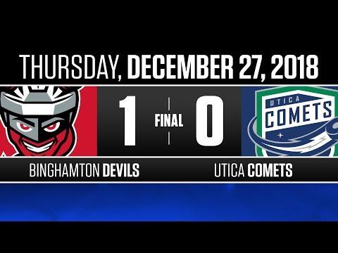 Devils vs. Comets | Dec. 27, 2018