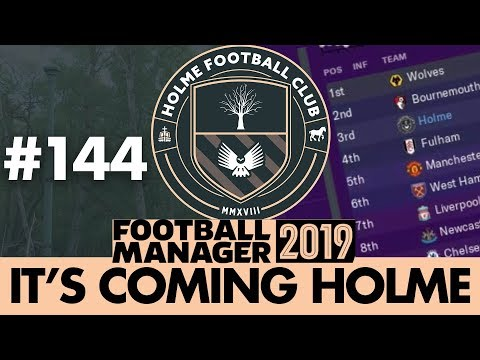 HOLME FC FM19 | Part 144 | THE FUTURE IS WEIRD | Football Manager 2019