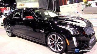 2018 Cadillac CTS-V Championship edition - Exterior Interior Walkaround - 2017 LA Auto Show   Kholo.pk