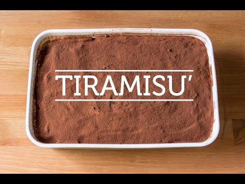 Italian TIRAMISU' – Original Italian recipe (2min)