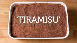 Italian TIRAMISU' - Original Italian Recipe (2min)