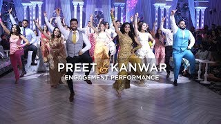 Preet & Kanwar | Epic Engagement Performance