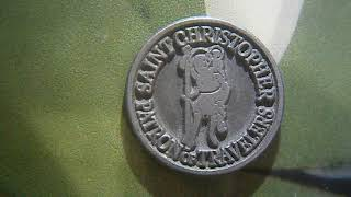 Saint Christopher patron of travelers