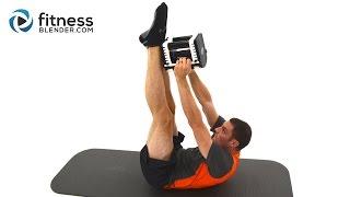 5分鐘進階腹部訓練 出處 FitnessBlender