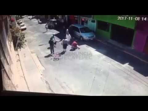 VIDEO: CAPTAN VIOLENTO ATAQUE DE PERRO EN LA DELEGACIÓN GUSTAVO A. MADERO, CDMX