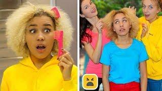 ProblemsGirlsWithCurlyHairUnderstand&FunnyFacts!GirlDIYLifeHacks