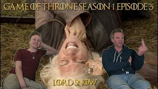 """Lee Reacts: Game of Thrones 1x03 """"Lord Snow"""" Reaction"""