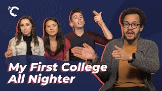 youtube video thumbnail - Harvard and UCLA Grads: My First College All Nighter