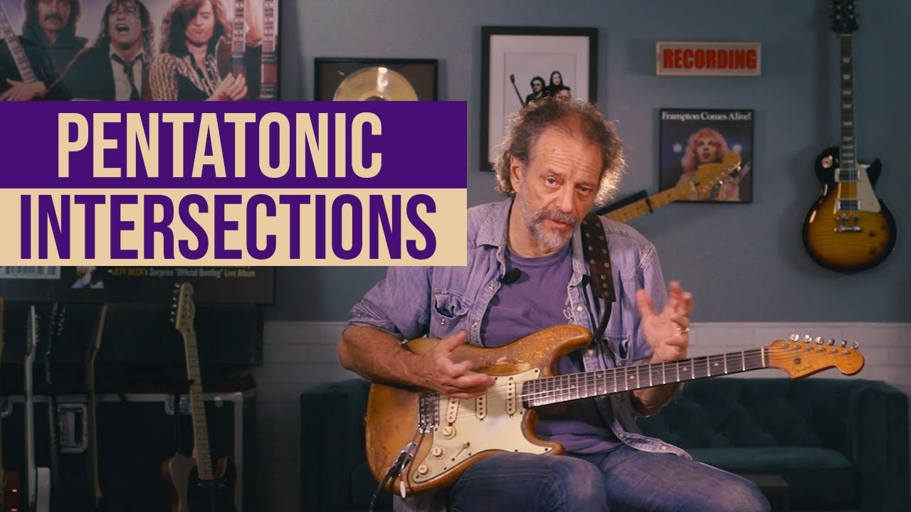 Andy Aledort Demonstrates Linking Parallel Minor to Major Pentatonic Scales