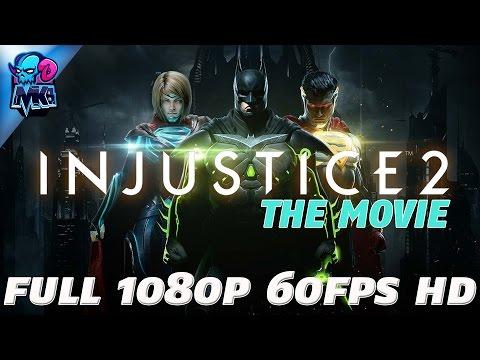 Injustice 2 The Move (Full 1080p 60fps HD) (Full Movie & All Cutscenes)