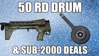Glock 9mm 50 Round Drum Magazine For All 9mm Glock Handguns
