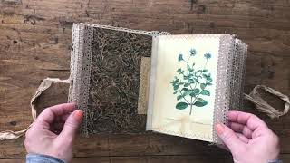 Embossed Junk Journal By A Penchant For The Past - Graphics Fairy