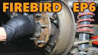 1978 Firebird Drum Brake Work and New Tires (Ep.6)