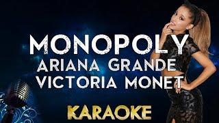Ariana Grande And Victoria Monét   MONOPOLY (Karaoke Instrumental)