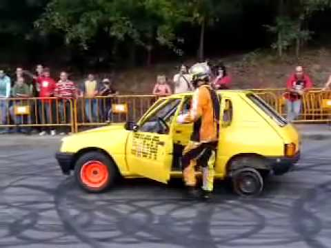 This is insane car stunt