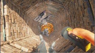 荒岛求生133:我登上了九层熔炉塔,发现了神秘人留下的9把AK