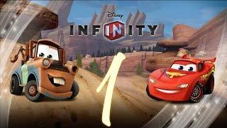 Прохождение Disney Infinity Тачки Часть 1