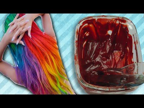Como Hacer Tinte Con Colorantes En Pasta ¡DE TODOS COLORES!