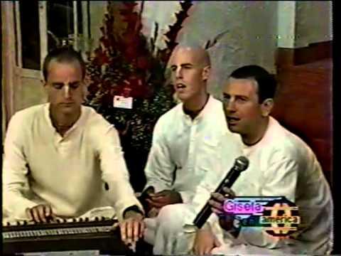 Hare Krishna en programa de Gisela (Perú)