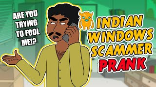 Indian Windows Scammer Prank - Ownage Pranks