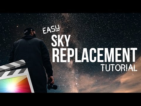 EASY Sky Replacement Effects Tutorial | Final Cut Pro X