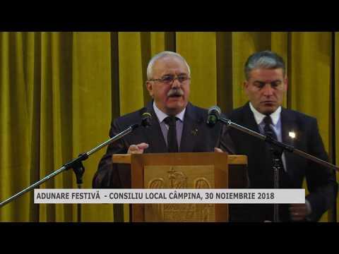 Adunare festivă CL Câmpina 30 noiembrie 2018