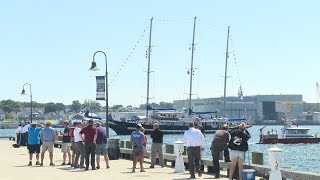 Uruguayan tall ship arrives in New London